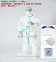 Trang phục phòng dịch cấp độ 4 (đường may ép seam)